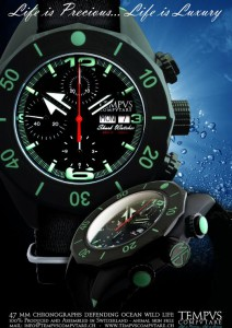 TEMPVS COMPVTARE The Shark Watcher 47 mm