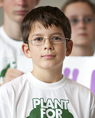 Felix Finkbeiner, Founder, Plant for the Planet
