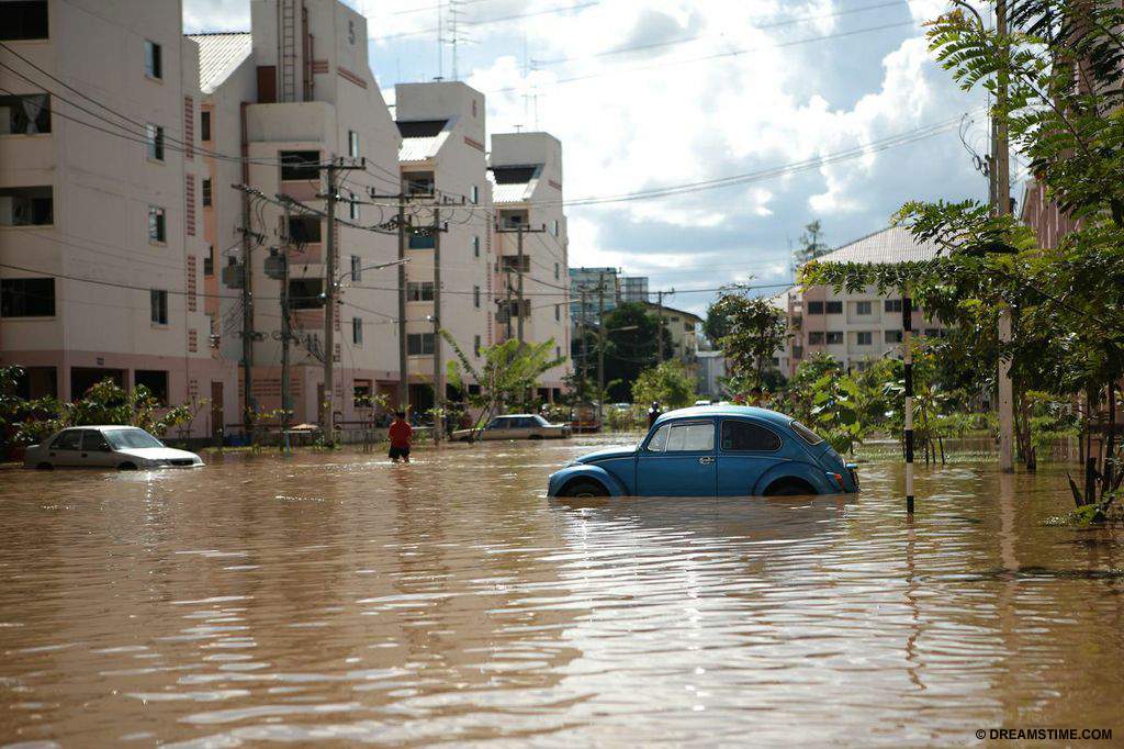 Floods in Thailand had huge economic and environmental damage