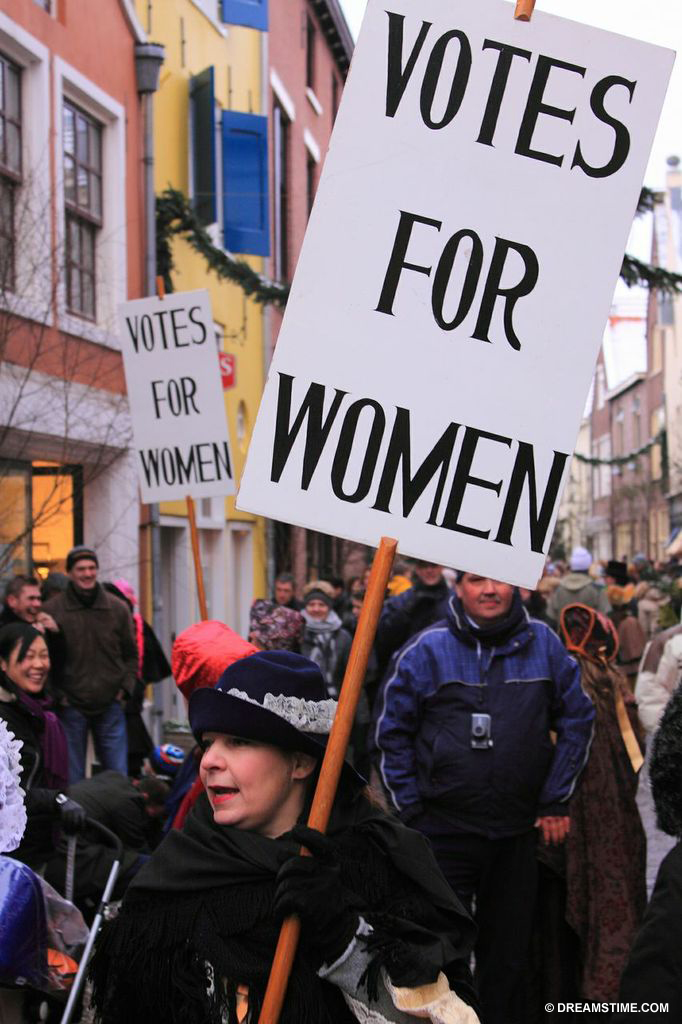 Women standing up for their rights