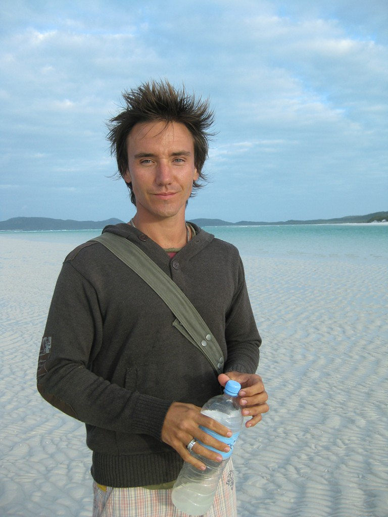 On location in the Whitsunday Islands, Australia. Photo © Jen Rose